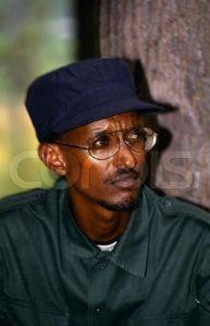 Rwanda's military dictator Paul Kagame